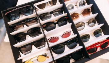 How KG Organizes Her Sunglasses
