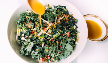 Crunchy Kale Winter Salad