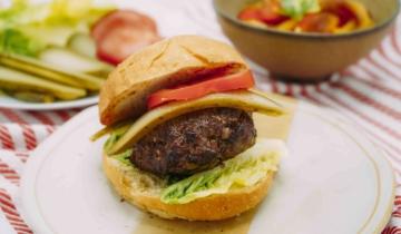 10 Minute Beef Burgers