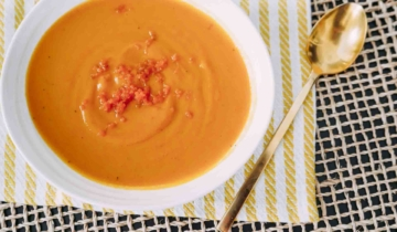 The Best Carrot Squash Soup