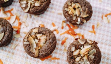 Coconut Carrot Cake Muffins