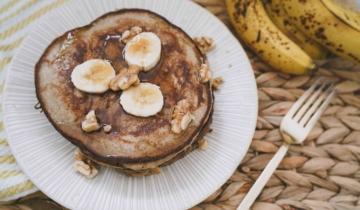 Fluffy Banana Gluten Free Pancakes