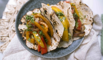 Mexican Veggie Wraps