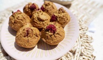 Raspberry Chia Muffins
