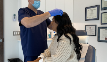 Ana Gets PRP Treatment For Her Hair